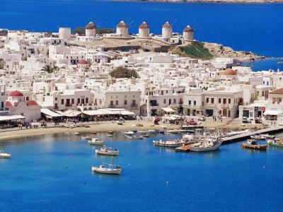 Tatilcilerin yeni gözdesi: Mykonos Adası